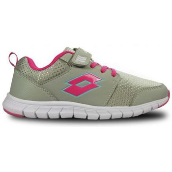 Chaussures Fille Baskets mode Lotto Chaussure fille Spacerun II CL SL Lott Gris anthracite