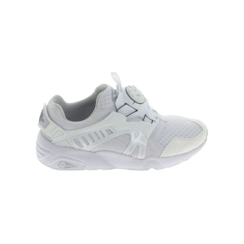 Puma Trinomic Disc Blanc Blanc - Chaussures Baskets basses Homme