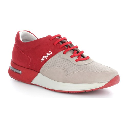 CallagHan 91300 Basket Homme Piedra/Rojo Piedra/Rojo - Chaussures Baskets basses Homme