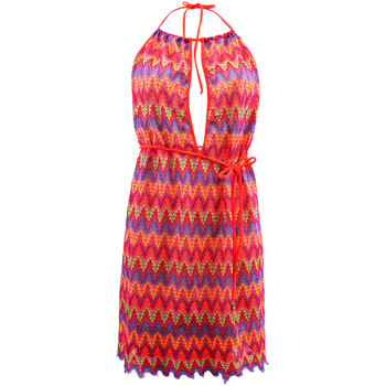 Vêtements Femme Robes Luli Fama Robe de plage  Song of the Sea Multicolore MULTICOLORE