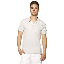 Vêtements Homme Polos manches courtes Biaggio Polo Homme - LOANEL - LT GREY Gris
