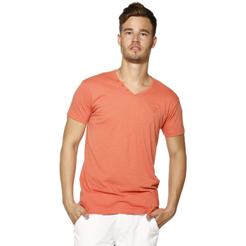 T-shirts manches courtes Biaggio T-shirt Homme - LORIKEL - CORAIL