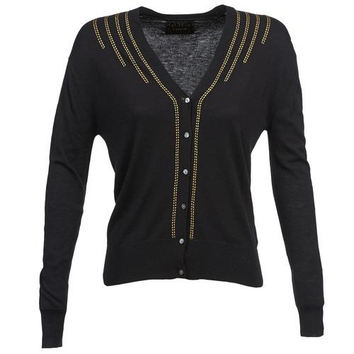Vêtements Femme Gilets / Cardigans Chipie BERENICE Noir