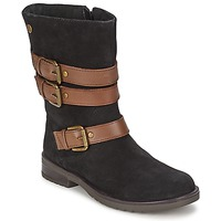 Chaussures Fille Bottes ville Gioseppo HALIFAX Noir