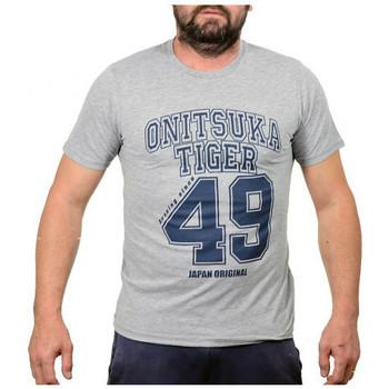 Vêtements Homme T-shirts manches courtes Onitsuka Tiger BaseballT-shirt Gris