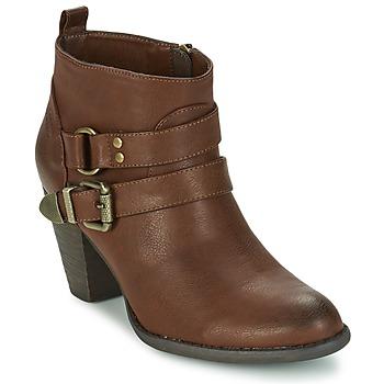 Chaussures Femme Bottines Kaporal FAYE Marron