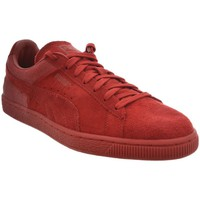 Chaussures Femme Baskets basses Puma baskets mode  361372 suede c casual embos rouge rouge