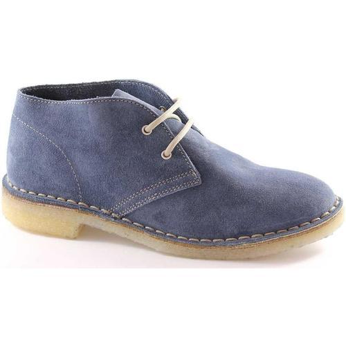 Chaussures Femme Derbies Manifatture Italiane MAI-2361-JE Blu