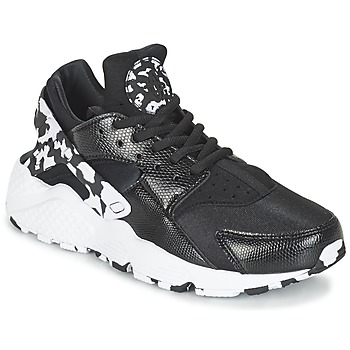 Chaussures Femme Baskets basses Nike AIR HUARACHE RUN SE W Noir / Blanc