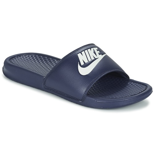 Chaussures Homme Claquettes Nike BENASSI JDI Bleu / Blanc