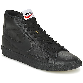 Chaussures Homme Baskets montantes Nike BLAZER MID Noir