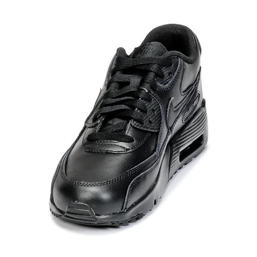 Enfant School Leather 90 Nike Chaussures Air Baskets Max Grade Noir Basses dChxsrtQ