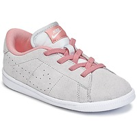 Chaussures Fille Baskets basses Nike TENNIS CLASSIC PREMIUM TODDLER Gris / Rose