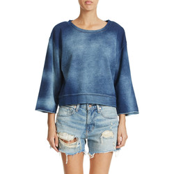 Vêtements Femme Sweats Cheap Monday Sweat  Strike Bleu Femme Bleu