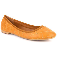 Chaussures Femme Ballerines / babies Cendriyon Ballerines Caramel Chaussures Femme Caramel