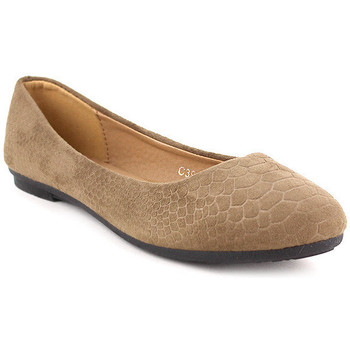 Chaussures Femme Ballerines / babies Cendriyon Ballerines Taupe Chaussures Femme, Taupe