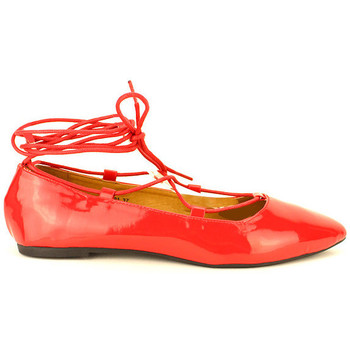 Chaussures Femme Ballerines / babies Cendriyon Ballerines Rouge Chaussures Femme, Rouge