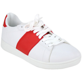 Chaussures Femme Baskets mode Cendriyon Baskets Rouge Chaussures Femme, Rouge