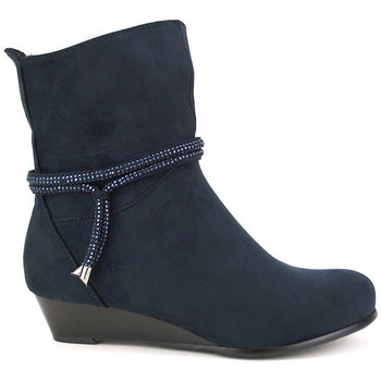 Bottines Cendriyon Bottines Bleu Chaussures Femme,