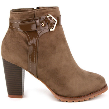 Bottines Cendriyon Bottines Taupe Chaussures Femme,
