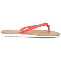 Chaussures Femme Tongs Cendriyon Tongs Corail Chaussures Femme, Corail