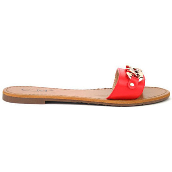 Chaussures Femme Tongs Cendriyon Tongs Rouge Chaussures Femme, Rouge