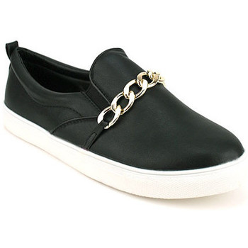 Chaussures Femme Baskets mode Cendriyon Baskets Noir Chaussures Femme, Noir