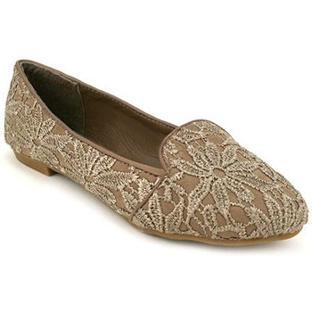 Chaussures Femme Mocassins Cendriyon Ballerines Taupe Chaussures Femme Taupe