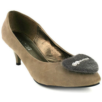 Chaussures Femme Escarpins Cendriyon Escarpins Taupe Chaussures Femme, Taupe