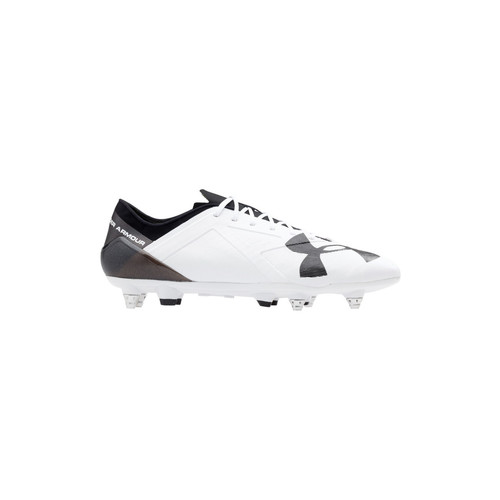 Chaussures Homme Football Under Armour Spotlight HYB Weiss