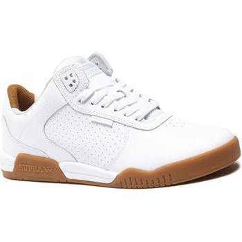 Chaussures Homme Baskets basses Supra ELLINGTON WHITE GUM Blanc