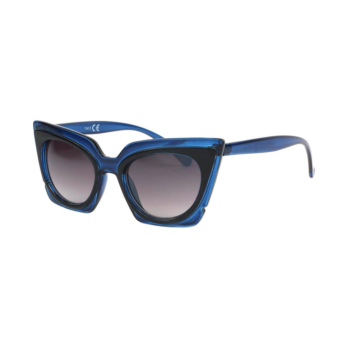 Eye Wear Lunettes de soleil Papillon Bleu Feline Bleu