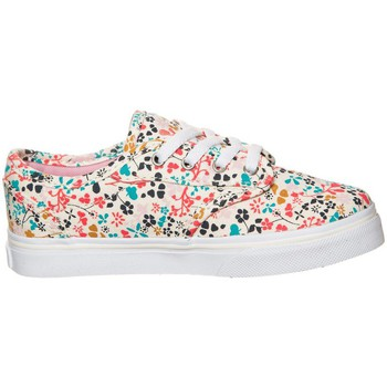Vans Z Atwood Low Floral Multi Turquoise-Blanc-Rose - Chaussures Baskets basses Femme