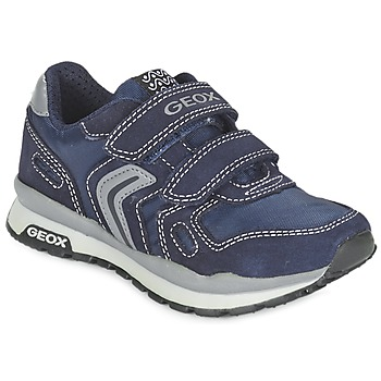 Chaussures Fille Baskets basses Geox J PAVEL Bleu