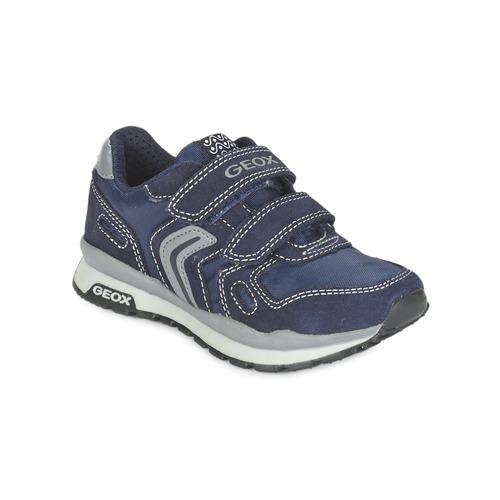 Chaussures Fille Baskets basses Geox J PAVEL Bleu