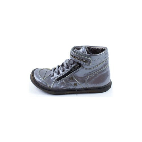 Chaussures Fille Bottines Little Mary Bottines  Fille argent TUBRILLE argent