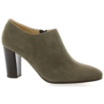 Chaussures Femme Boots Vidi Studio Boots cuir velours Taupe