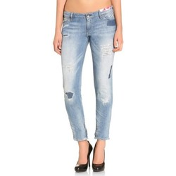 Vêtements Femme Jeans slim Guess Jean Femme 3/4 Skinny Ultra Low Hills Bleu