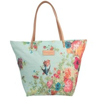 Sacs Femme Cabas / Sacs shopping Christian Lacroix Sac shopping  Eden 1 Fleur Bleu 19