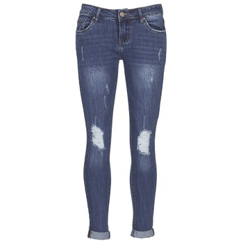 Vêtements Femme Jeans slim Yurban IFOUNOLE Bleu medium