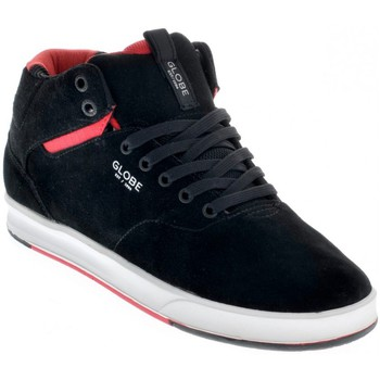 Chaussures de Skate Globe MOTLEY SOLACE black red