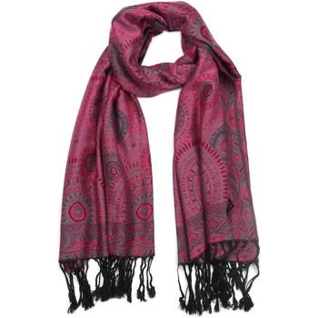 Accessoires textile Femme Echarpes / Etoles / Foulards Léon Montane Pashmina Violet et Bleu Bombay Violet