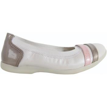 Chaussures Fille Ballerines / babies Kickers 351965-30 AMBERI Blanco