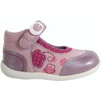 Chaussures Fille Ballerines / babies Kickers 474580-10 BIKIFIRST Rosa