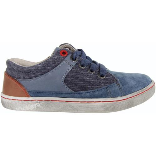 Chaussures Garçon Baskets basses Kickers 469380-30 LYLIAN Azul