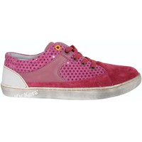 Chaussures Fille Baskets basses Kickers 469382-30 LYLIAN Rosa