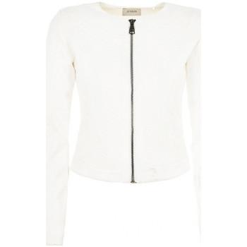 Vêtements Femme Blousons Guess Blouson  Ava Blanc W62L02K4J60 Blanc