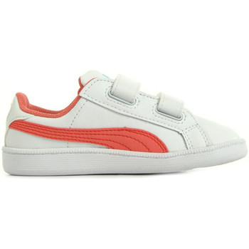 Chaussures Fille Baskets basses Puma Smash FUN L V Inf blanc