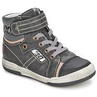 Chaussures Garçon Baskets montantes GBB HERMINIG Gris