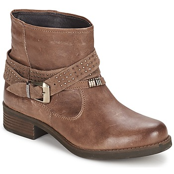 Chaussures Femme Boots Keys CLOSE Marron